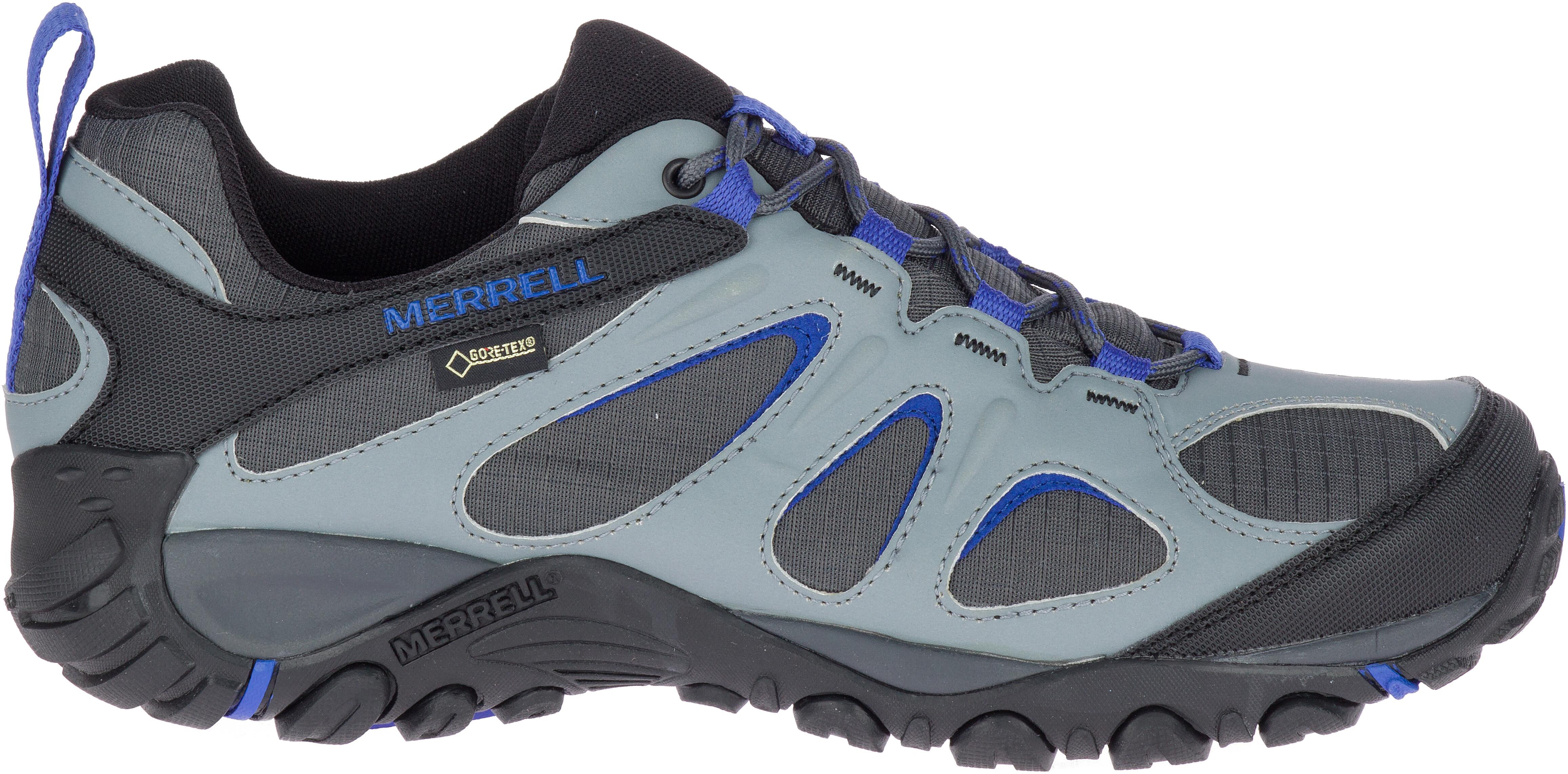 46b6a9b97ae Merrell Yokota 2 Sport GTX - Chaussures Homme - gris bleu sur CAMPZ !
